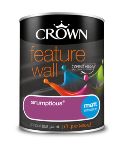 Боя за акцент Crown Feature Wall Scrumptious 1.25l