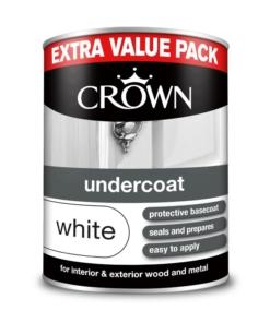 Грунд за дърво и метал Crown Undercoat White