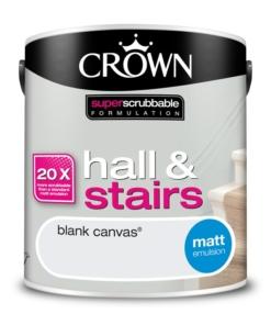 Почистваща се боя Crown Blank Canvas