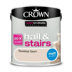 Почистваща се боя Crown Flawless Fawn