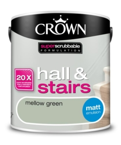 Почистваща се боя Crown Mellow Green