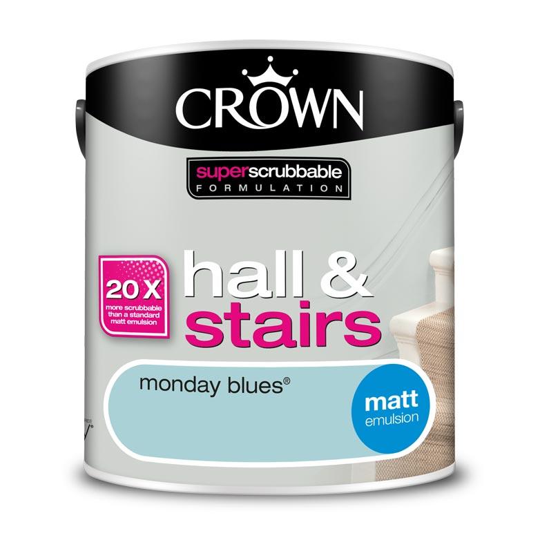 Почистваща се боя Crown Monday Blues