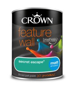 Боя за акцент Crown Feature Wall Secret Escape 1.25l