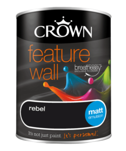 Боя за акцент Crown Feature Wall Rebel 1.25l