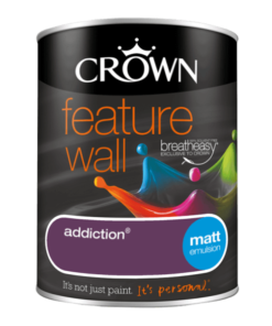Боя за акцент Crown Feature Wall Addiction 1.25l