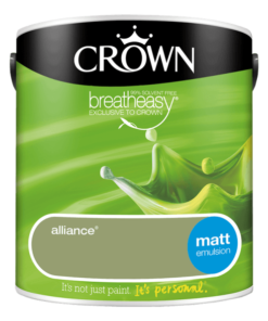 Интериорна боя Crown Matt Emulsion 2.5 л Alliance