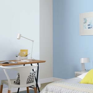Интериорна боя латекс Crown Matt Emulsion powder blue 2.5л.