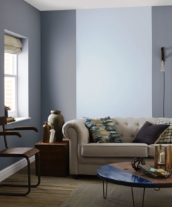 боя за акцент Crown Feature Wall Blue Gravel
