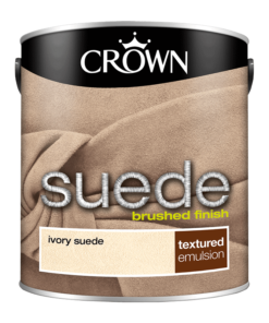 Боя за акцент Crown Suede Ivory 2.5l
