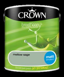 Интериорна боя Crown Matt Emulsion Mellow Sage 2.5l