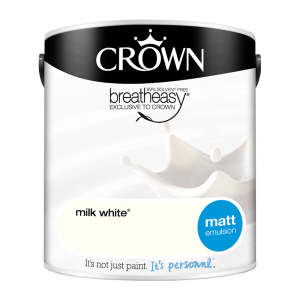 Интериорна боя Crown Matt Emulsion Milk White 2.5l