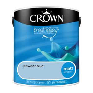Интериорна боя Crown Matt Emulsion Powder Blue 2.5l