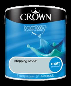 Интериорна боя Crown Matt Emulsion Stepping Stone 2.5l