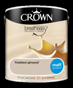 Интериорна боя Crown Matt Emulsion Toasted Almond 2.5l