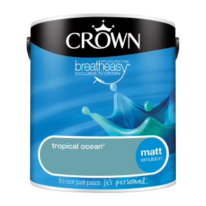 Интериорна боя Crown Matt Emulsion Tropical ocean 2.5l