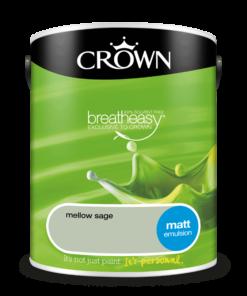 Интериорна боя Crown Matt Emulsion Mellow Sage 5l
