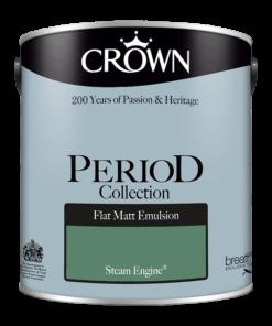 Интериорна боя Crown Period Steam Engine 2.5l