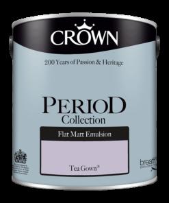 Интериорна боя Crown Period Tea Gown 2.5l