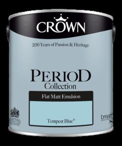 Интериорна боя Crown Period Tempest Blue 2.5l