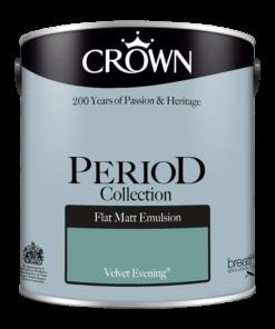 Интериорна боя Crown Period Velvet evening 2.5l