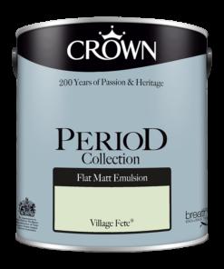 Интериорна боя Crown Period Village Fete 2.5l