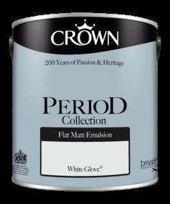 Интериорна боя Crown Period White Glove 2.5l