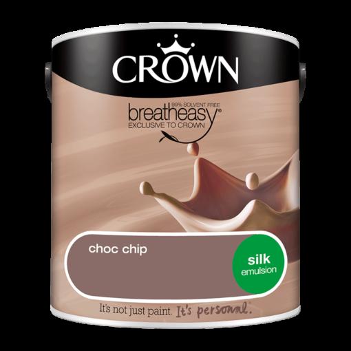 Интериорна боя Crown Silk Emulsion Choc Chip 2.5l