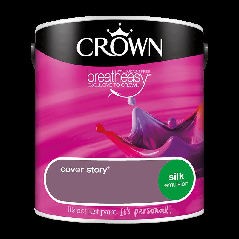 Интериорна боя Crown Silk Emulsion Cover Story 2.5l