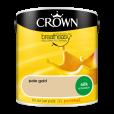 Интериорна боя Crown Silk Emulsion Pale Gold 2.5L