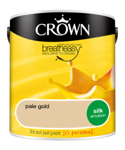 Интериорна боя Crown Silk Emulsion Pale Gold 2.5L