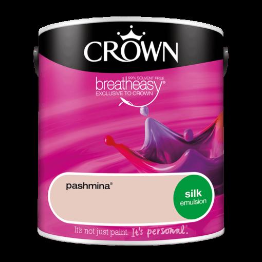 Интериорна боя Crown Silk Emulsion Pashmina 2.5l