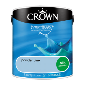 Интериорна боя Crown Silk Emulsion Powder Blue 2.5l