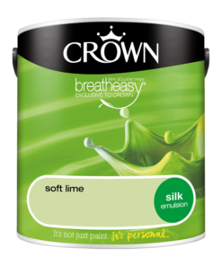 Интериорна боя Crown Silk Emulsion Soft Lime 2.5l