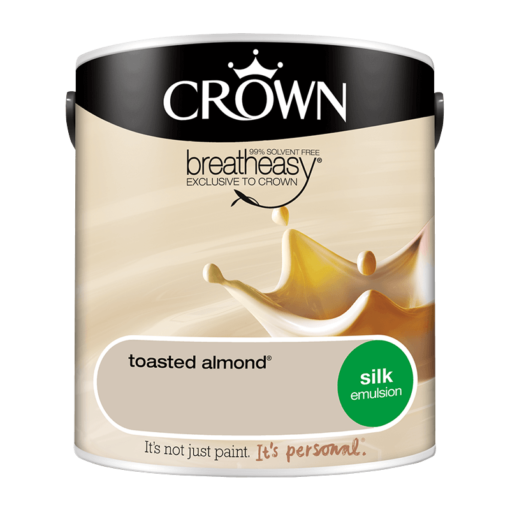 Интериорна боя Crown Silk Emulsion Toasted Almond 2.5l