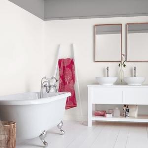Боя за баня Crown Bathroom milk white