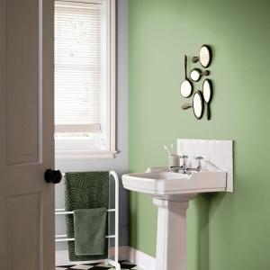Боя за баня Crown Bathroom Bamboo leaf