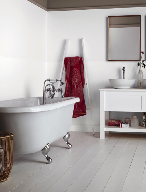 Боя за баня Crown Bathroom Pure brilliant white