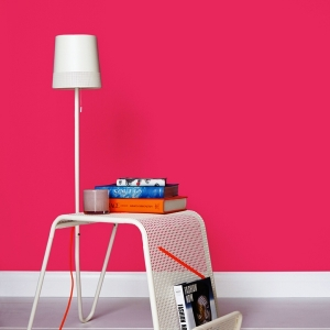 Интериорна боя латекс Crown Matt Emulsion shocking pink 2.5л.