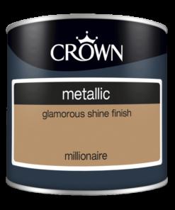 Тестер боя за акцент Crown Metallic Millionaire 125ml