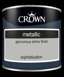 Тестер боя за акцент Crown Metallic Sophistication 125ml