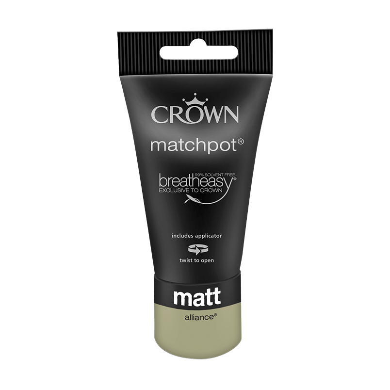 Тестер Интериорна боя Crown Matt Emulsion 40 ml Alliance