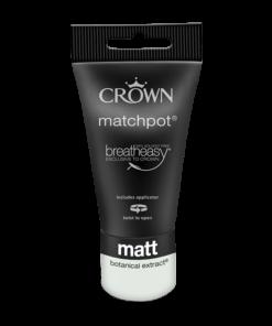 Тестер Интериорна боя Crown Matt Emulsion Botanical Extract