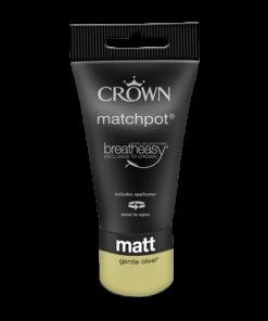 Тестер Интериорна боя Crown Matt Emulsion 40 ml. Gentle Olive