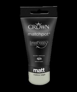 Тестер Интериорна боя Crown Matt Emulsion 40 ml. Mellow Sage