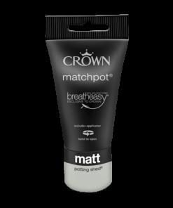 Тестер Интериорна боя Crown Matt Emulsion 40 ml Potting Shed