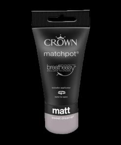 тестер интериорна боя Crown Matt Emulsion Sweet Dreams 40 ml