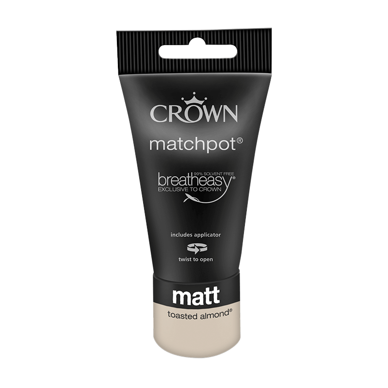 Тестер Интериорна боя Crown Matt Emulsion 40 ml Toasted Almond