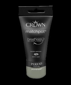 Тестер Интериорна Боя Crown Period Collection Matt 40ml Promenade