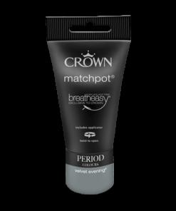 Тестер Интериорна Боя Crown Period Collection Matt 40ml Velvet Evening