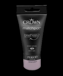 Тестер Интериорна Боя Crown Period Collection Matt 40ml Velvet Plum